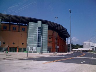 Cayey, Puerto Rico - The new Pedro Montañez Municipal Stadium in Cayey