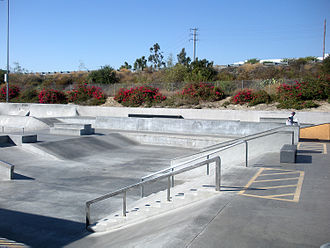 Etnies Skatepark of Lake Forest - The street course