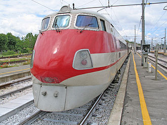 1989 in rail transport - FS ETR 450 Pendolino