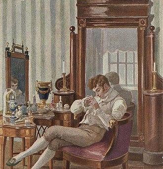 Eugene Onegin - Onegin by Elena Samokysh-Sudkovskaya, 1908