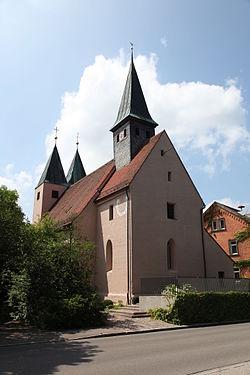 Ev kirche Rednitzhembach 20110705-01.JPG