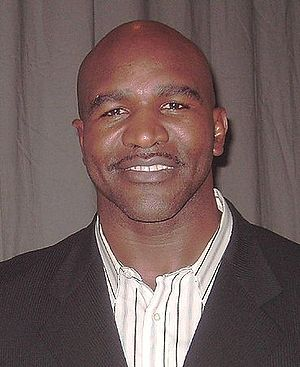 Evander (the real deal) Holyfield.