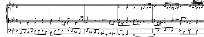 Excerpt-BWV659