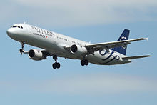 F-GTAE A321 Air France Skyteam (14807314613).jpg