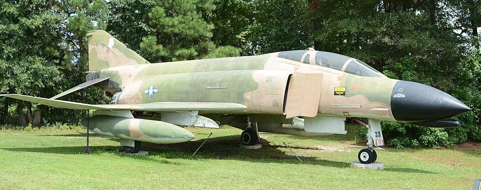 F4 Phantom at Mighty 8th Air Force Museum, Pooler, GA, US