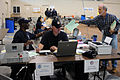 FEMA - 42266 - State and FEMA Managers at Walker Disaster Center.jpg