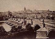 FFridrich, Praha, Karluv most a Prazsky hrad