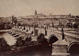Prague Castle - Prague Castle in 1870