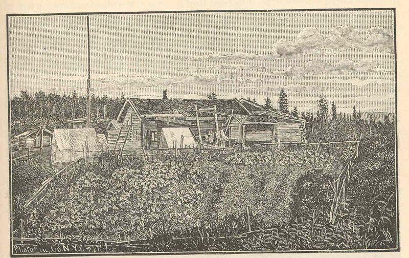 File:FMIB 44032 Nuklakyet; view of Mr Harper's trading station looking westward.jpeg