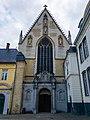 Façade de l'église de l'abbaye de la cambre.jpg