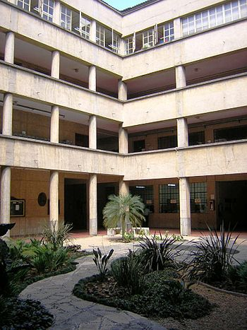 Facultad de Medicina-Patio-UdeA