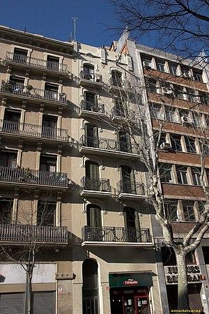 Carrer del Consell de Cent, Barcelona - Carrer del Consell de Cent.