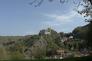 Counts of Falkenstein (Rhineland-Palatinate) - Falkenstein Castle