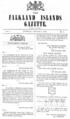 Falkland Islands Gazette n1.png