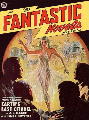 Fantastic Novels cover July 1950
