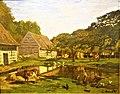 Farmyard in Normandy by Claude Monet - Musée d'Orsay, Paris - Joy of Museums.jpg