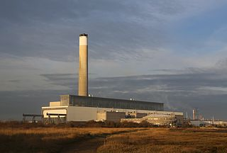Fawley Power Station Former oil-fired power station in Hampshire, England