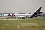 """FedEx - Federal Express McDonnell Douglas MD-11(F) N596FE """"Peyton"""" (30855314844).jpg"""