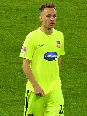 Arne Feick - Feick with 1. FC Heidenheim in 2017