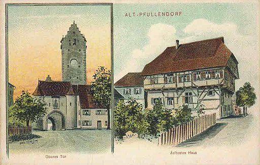 Felle Pfullendorf Oberes Tor Altes Haus
