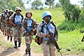 Female combat troops of South African Contingent in MONUSCO on robust foot and moblile patrols 67.jpg