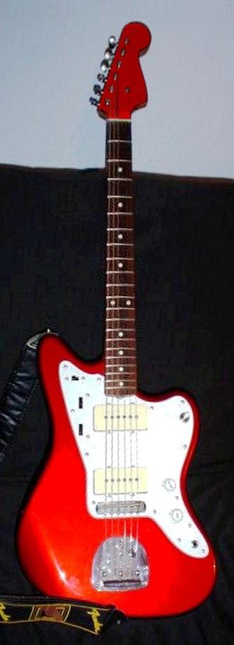 Fender Jazzmaster - Image: Fender jazzmaster