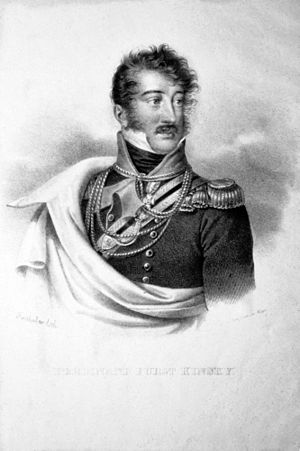 Ferdinand, 5th Prince Kinsky of Wchinitz and Tettau - Image: Ferdinand Fürst Kinsky Litho