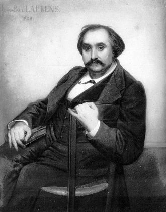 Ferdinand Fabre - Ferdinand Fabre Portrait by Jean-Paul Laurens
