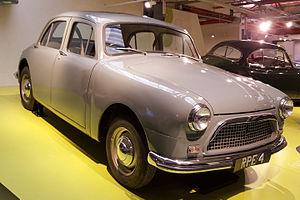 Ferguson Research - 1952 Ferguson R4 4WD prototype
