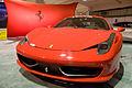 Ferrari 458 Italia 2010 Seattle car show.jpg