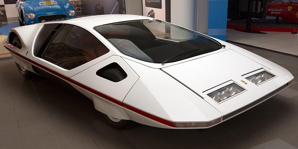 Ferrari Modulo front-right Museo Ferrari