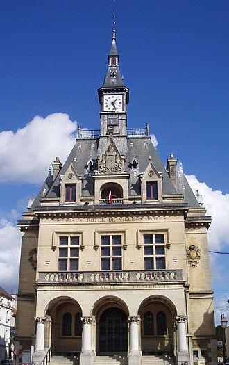 La Ferté-sous-Jouarre - Town hall