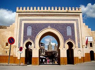 Gates of Fez - Bab Bou Jeloud