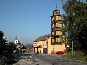 Volary - Image: Feuerwehrhaus Volary