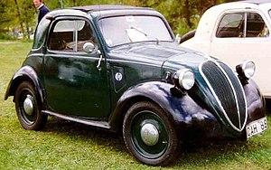 """Fiat 500 """"Topolino"""" - Image: Fiat 500A 1939"""