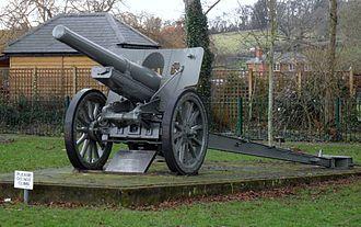 Type 96 15 cm howitzer - Image: Field Gun in Romsey Park