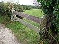 Field gateway beside lane near Ailwood Farm - geograph.org.uk - 1767806.jpg