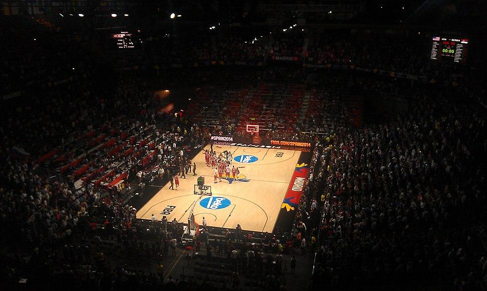 Final del Campeonato del Mundo de Baloncesto 2014 en Madrid