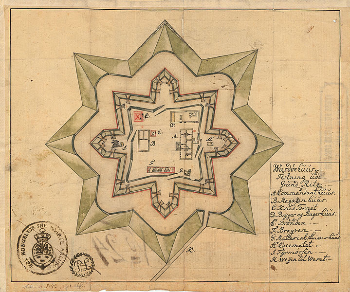 File:Finnmarkens amt nr 13- Wardøehuus Festning udi Grundritz, 1793.jpg