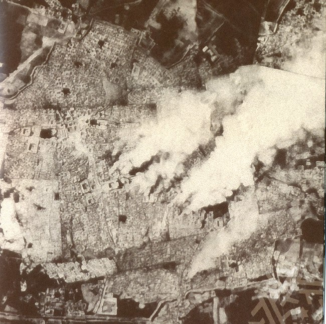 Fires in Bukhara 1920
