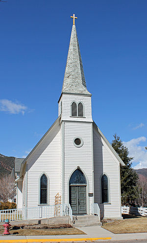 National Register of Historic Places listings in Eagle County, Colorado - Image: First Evangelical Lutheran Church (Gypsum, Colorado)