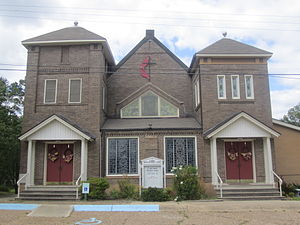 Junction City, Arkansas - First United Methodist Church in Junction City