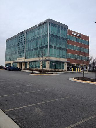 Five Guys - The Five Guys corporate headquarters in Lorton, Virginia