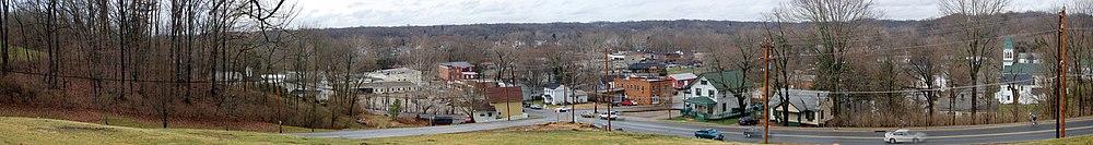 Five Points intersection, Loveland, Ohio
