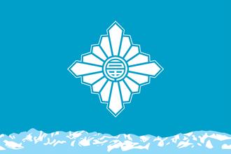Toyama, Toyama - Image: Flag of Toyama, Toyama