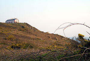 Flamanville, Manche - The signal station