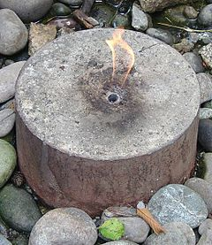 Image of the Flaming Geyser