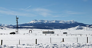 Flat Tops (Colorado) - The Flat Tops as seen from State Highway 131 in Routt County