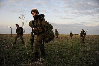 """Sword Battalion - IDF """"Sword"""" Battalion exercise in 2011"""