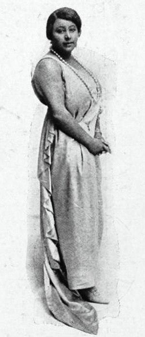 Florence Cole Talbert - Florence Cole Talbert in 1925